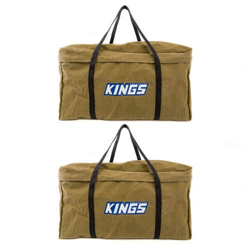 2x Kings Campfire BBQ Canvas Bag