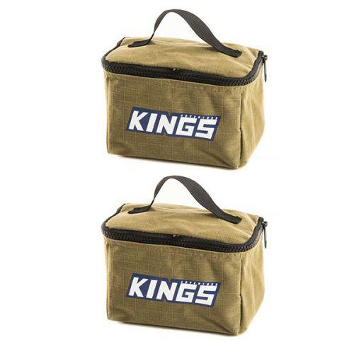 2x Adventure Kings Toiletry Canvas Bag
