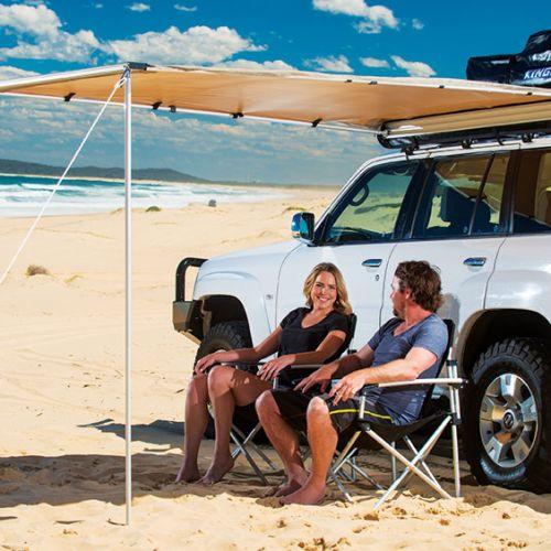 Kings 2 x 2.5m Kings Side Vehicle/Camping Awning | UPF 50+ | Waterproof