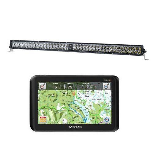 """Kings 30"""" Laser Light Bar + VMS Touring 700 HDX"""