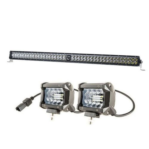 """Kings 40"""" Laser Light Bar + 4"""" LED Light Bar"""