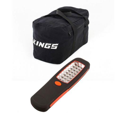 Adventure Kings 40L Duffle Bag + Illuminator 24 LED Work Light
