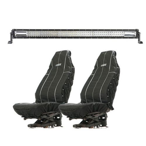 "Adventure Kings Domin8r 42"" LED Light Bar + Adventure Kings Heavy Duty Seat Covers"