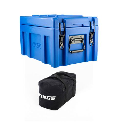 Kings 45L Tough Front Opening Storage Box + 40L Duffle Bag