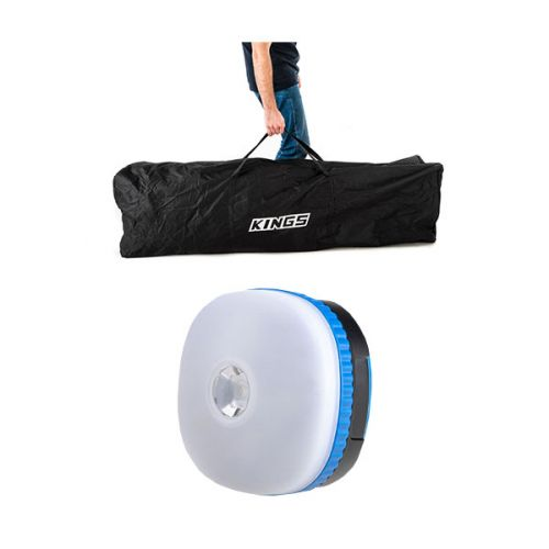 Kings 6x3m Polyester Gazebo Bag + Mini Lantern
