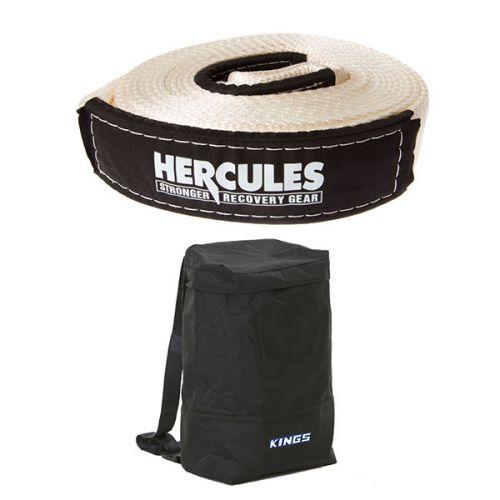 Hercules - 8000kg Snatch Strap + Adventure Kings Dirty Gear Bag