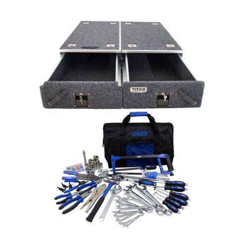 Titan Drawer System - 900mm + Ultimate Bush Mechanic Tool Kit 150+ Pieces