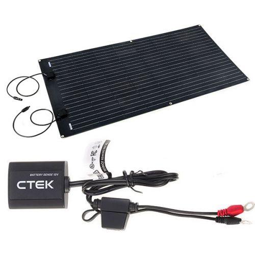 Adventure Kings 160W Semi-Flexible Solar Panel + CTEK Battery Sense