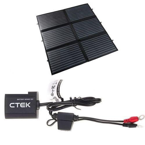 Adventure Kings 200W Portable Solar Blanket + CTEK Battery Sense