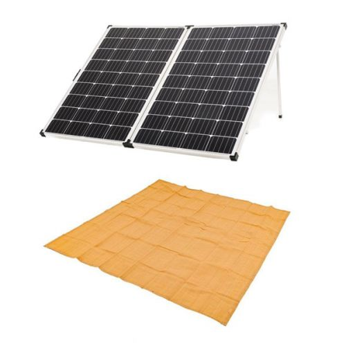 Adventure Kings 250w Solar Panel + Mesh Flooring 3m x 3m