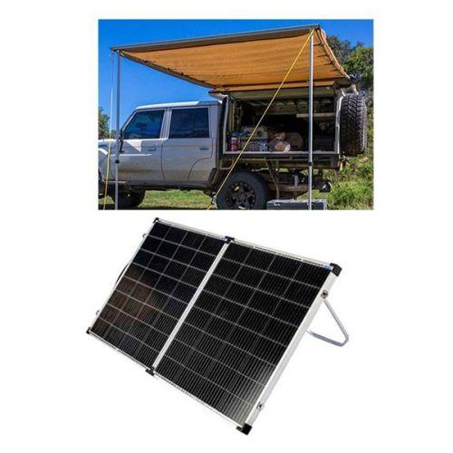 Adventure Kings Awning 2x3m + Kings Premium 160w Solar Panel with MPPT Regulator