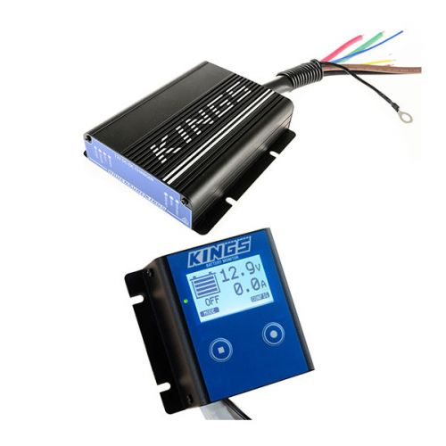 Adventure Kings 25AMP DC-DC Charger (with MPPT SOLAR) + 12V Battery Monitor