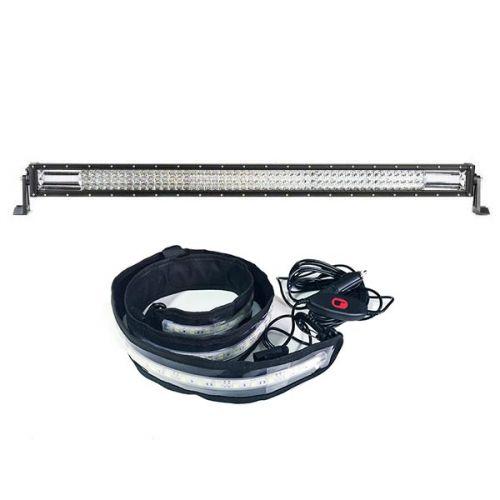 "Adventure Kings Domin8r 42"" LED Light Bar + Illuminator MAX LED Strip Light"