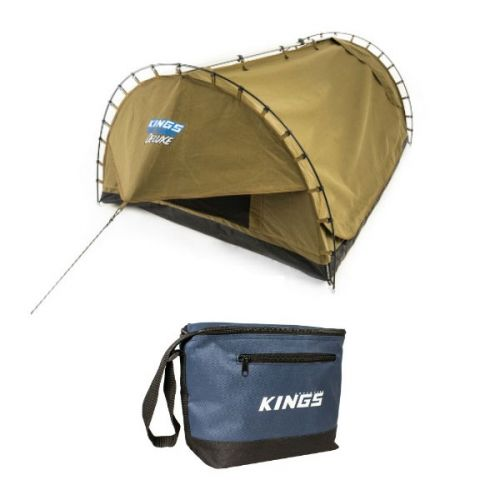 Adventure Kings Double Swag Big Daddy Deluxe + Adventure Kings - Cooler Bag