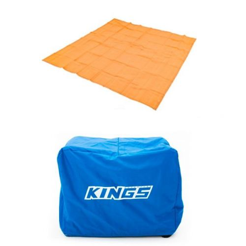 Adventure Kings Mesh Flooring 3m x 3m + Cover For 3.5KVA Generator