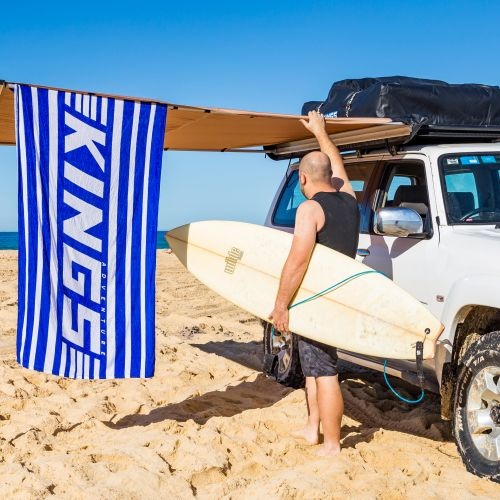 Beach Towel Twin-Pack | Massive Size | Super Absorbent | Adventure Kings