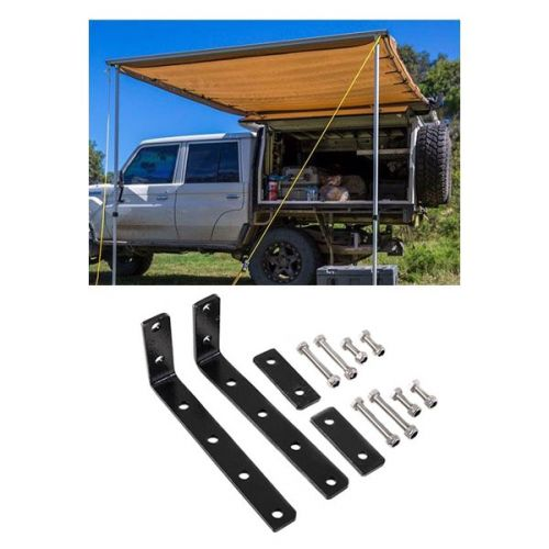 Adventure Kings Awning 2x3m + Awning Mounting Brackets (Pair)