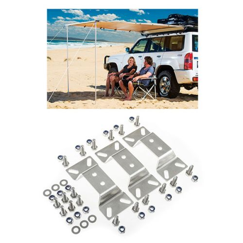 Adventure Kings Awning 2x2.5m + Awning bracket kit (for Grand Tourer RTT)