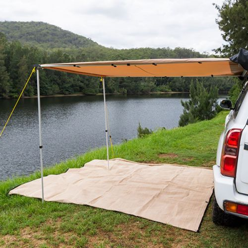 Kings 2x3m Awning w/LED Light | Suits All Vehicles | UPF50+ | Inc. Mounting Kit