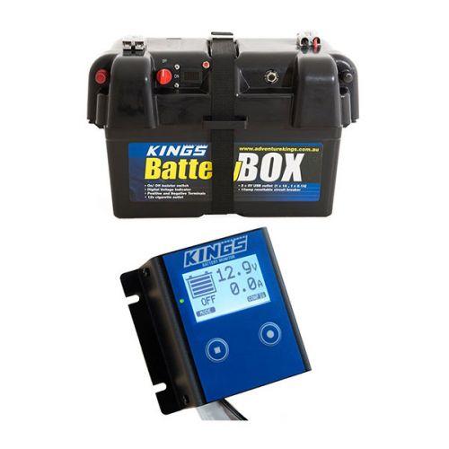 Adventure Kings Battery Box + 12V Battery Monitor