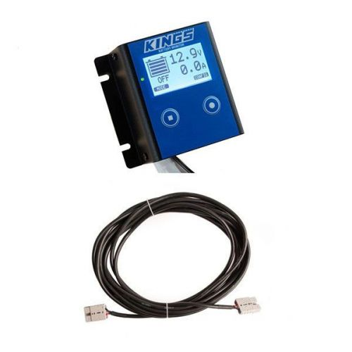 12V Battery Monitor + 10m Lead For Solar Panel Extension