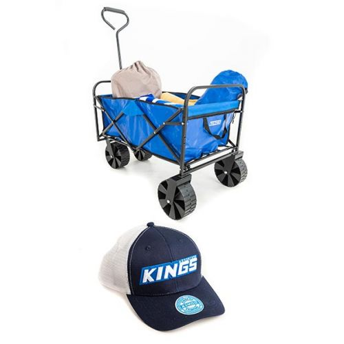 Adventure Kings Collapsible Cart + Adventure Kings Trucker's Hat