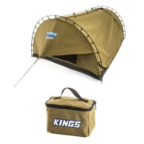 Kings Big Daddy Deluxe Double Swag + Adventure Kings Toiletry Canvas Bag