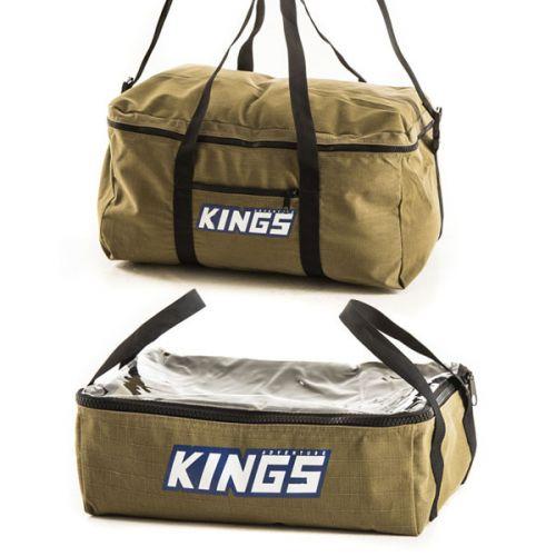 Adventure Kings Clear Top Canvas Bag + Canvas Travel Bag