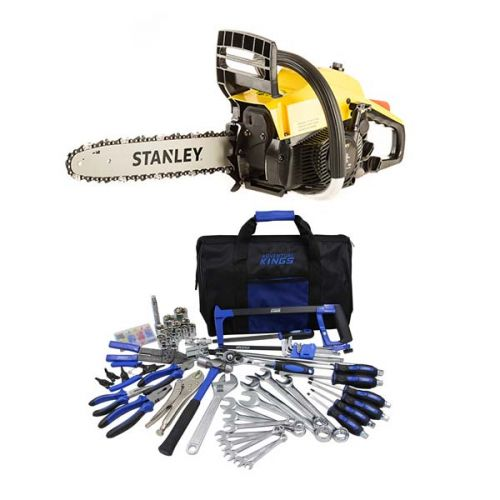 Stanley 37cc Camping Chainsaw + Adventure Kings Tool Kit - Ultimate Bush Mechanic