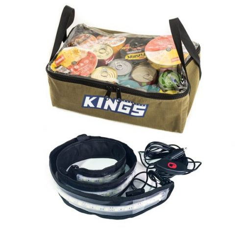 Adventure Kings Clear Top Canvas Bag + Illuminator MAX LED Strip Light