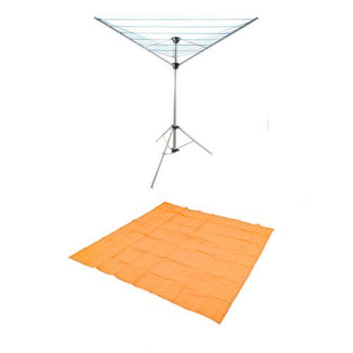 Adventure Kings Mesh Flooring 3m x 3m + Kings Camping Clothesline