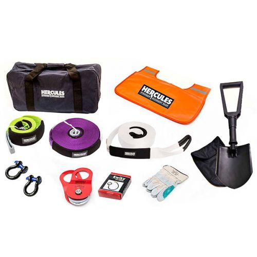 Hercules Complete Recovery Kit - 11-piece | Snatch, Winch & 4WD Gear | Adventure Kings