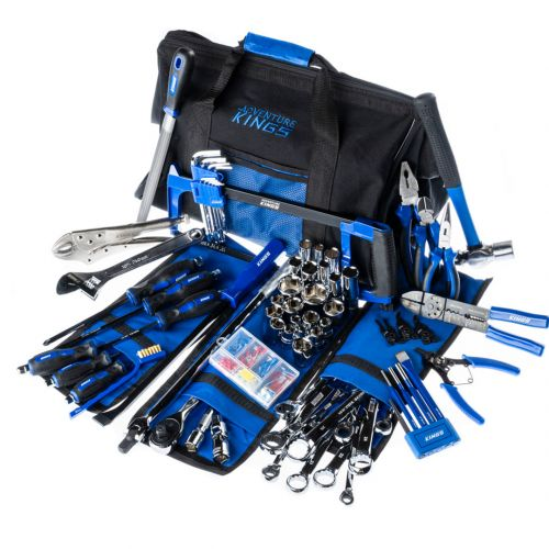 Big Daddy Bush Mechanic Tool Kit | 174 Pieces | Spanners, Sockets, Pliers & More | Inc. Spares & Storage Bag | Adventure Kings