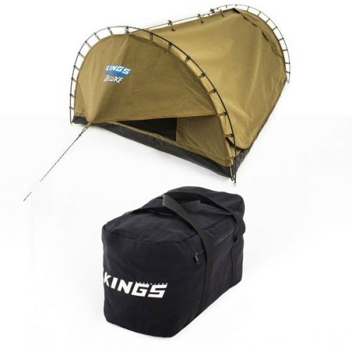 Adventure Kings 'Big Daddy' Deluxe Double Swag + Adventure Kings 40L Duffle Bag