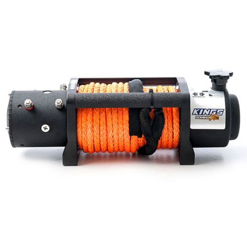 Domin8r X 12,000lb Winch | 7.2hp motor | 26m Synthetic Rope | Wired Controller | Adventure Kings