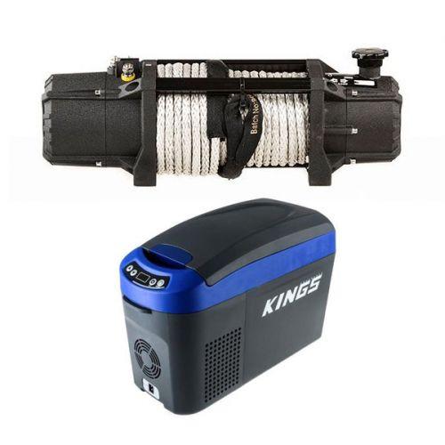 Domin8r Xtreme 12,000lb Winch + 15L Centre Console Fridge/Freezer