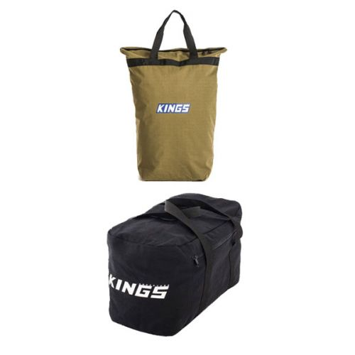 Adventure Kings Doona/Pillow Canvas Bag + 40L Duffle Bag