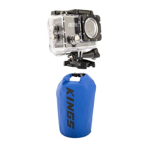 Adventure Kings Action Camera + 15L Dry Bag