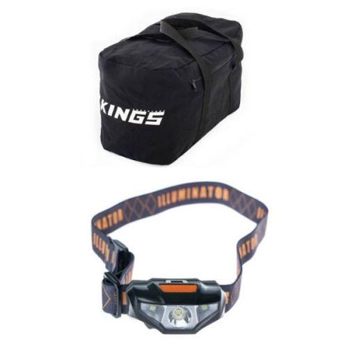 Adventure Kings 40L Duffle Bag + Illuminator LED Head Torch