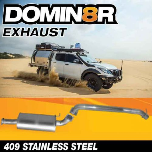 Domin8r Stainless Steel Exhaust Suitable For Mazda BT50 URII 3.2L All Bodies 08/2016+ (DPF Back)