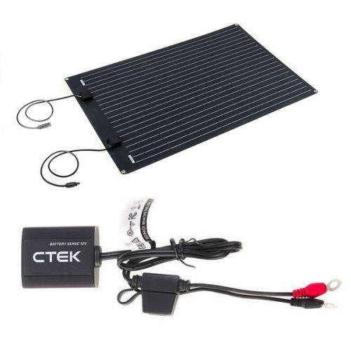 Adventure Kings 110W Semi-Flexible Solar Panel + CTEK Battery Sense