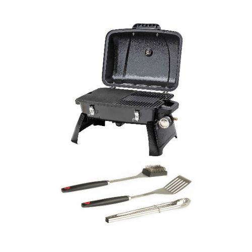 Gasmate Voyager Portable BBQ + Adventure Kings BBQ Tool Set