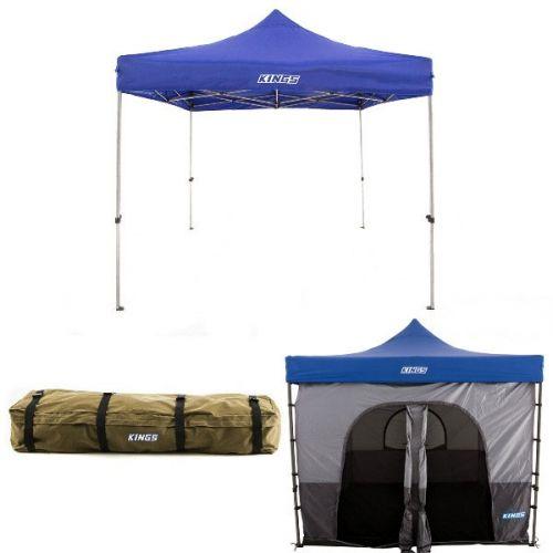 Adventure Kings - Gazebo 3m x 3m + Gazebo Tent + Roof Top Canvas Bag