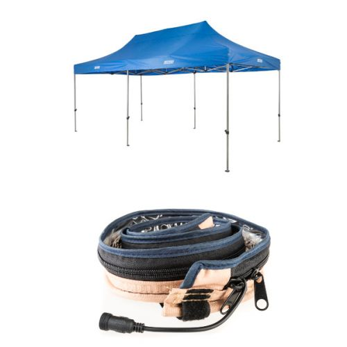 Adventure Kings - Gazebo 6m x 3m + LED Strip Light