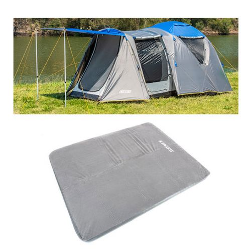 Adventure Kings 6 Person Geo Dome Tent + Self Inflating 100mm Foam Mattress - Queen