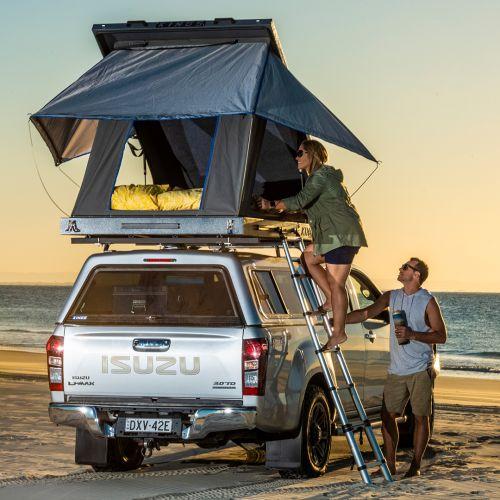 Grand Tourer Aluminium Rooftop Tent | 2min Setup | 75mm mattress | 2yr Wty