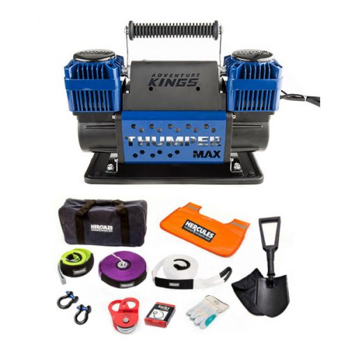 Hercules Complete Recovery Kit + Thumper Max Dual Air Compressor