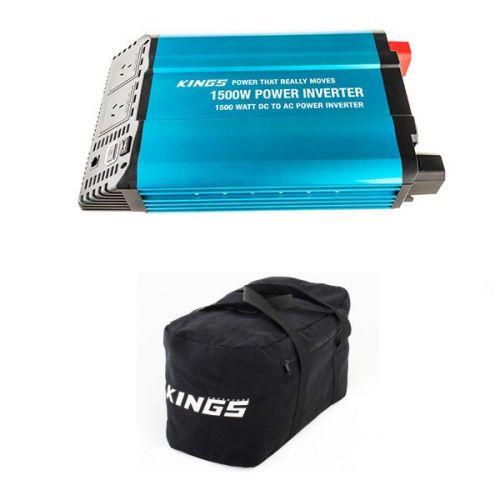 Adventure Kings 1500W Inverter + Adventure Kings 40L Duffle Bag