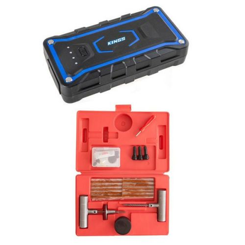 Adventure Kings Jump Starter + Hercules Tyre Repair Kit
