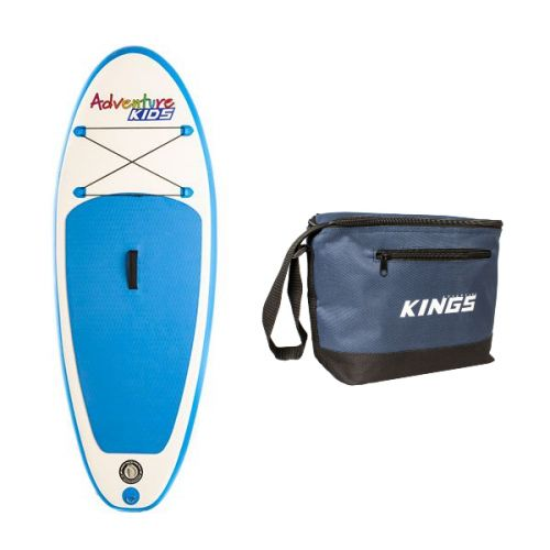 Kids Inflatable Stand-Up Paddle Board + Cooler Bag